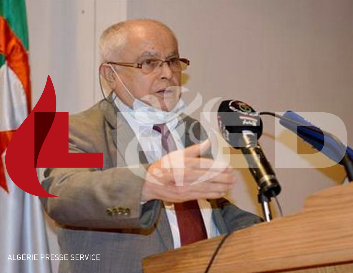 The Minister of Energy, Abdelmadjid Attar